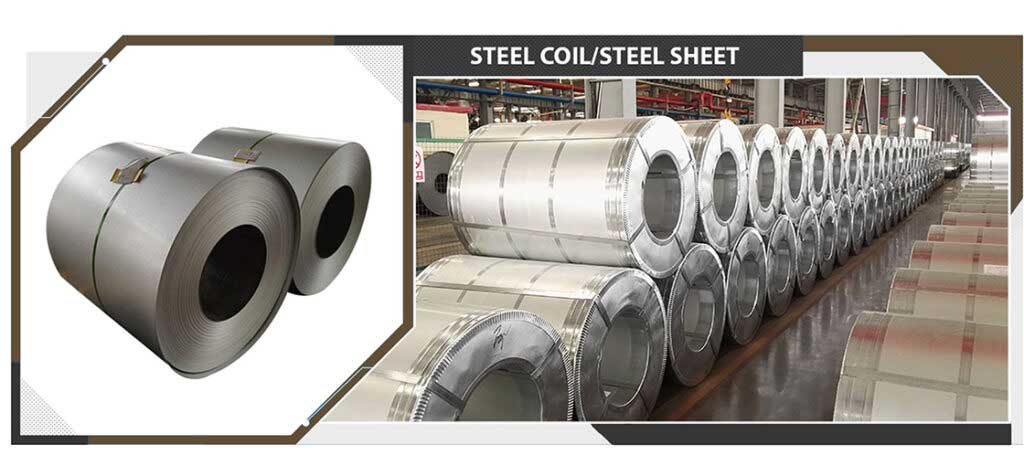steel coil and steel sheet