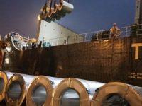 steel loading